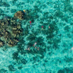 Ningaloo Snorkelers Drone 1